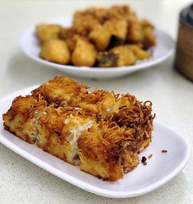 Amongst the Dim Sum on their menu, this signature Mee Suah Kueh of their have to be their most iconic item.