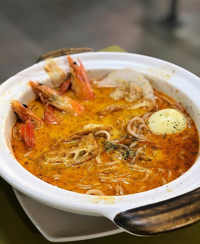 No stranger to the residents of TPY or anyone who enjoy their more affordable claypot crab beehoon; but their claypot prawn laksa was just as much a shining star.