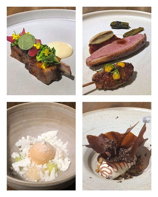 Dining at @metasingapore was a play with the senses and palate, much as Chef Sun would bring about Korean and Asian twists to classic French cuisines using seasonal ingredients.