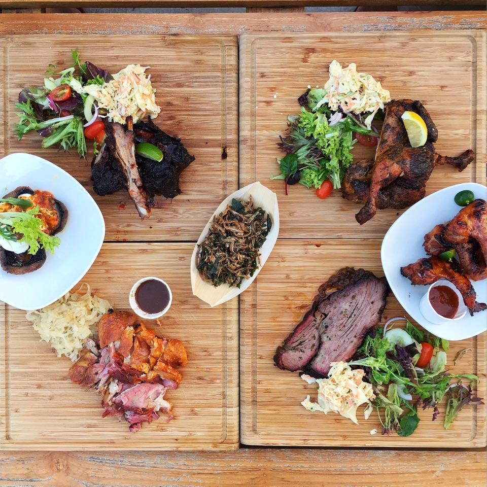 Pork Knuckle / Wagyu Beef Brisket