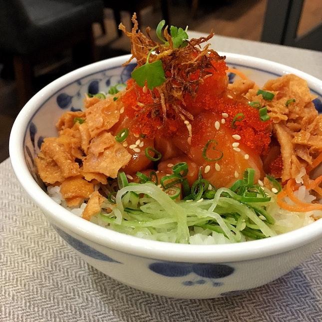 Salmon Yu-Sheng Bowl