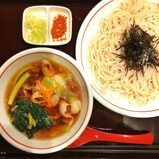 Pork Nanban Tsuke Soba