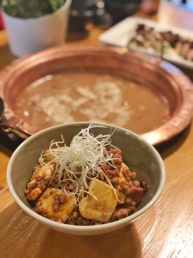 Mapo Tofu Don