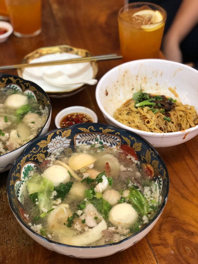 Whole Abolone Seafood Soup