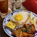 Vietnamese Broken Rice w Grilled Pork