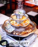 🎁 [GIVEAWAY] 1 Pair Pagoda Steamboat Buffet (Picking 1 lucky winner; total worth S$45.60++) .