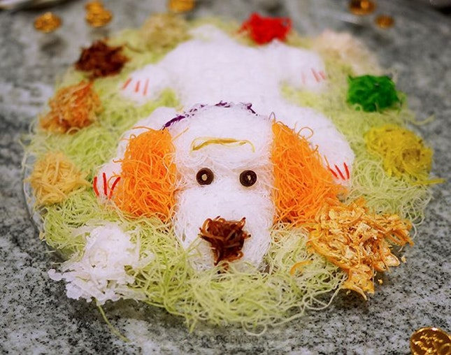 The cutest yusheng I've seen so far 😍 Which is your favourite yusheng?