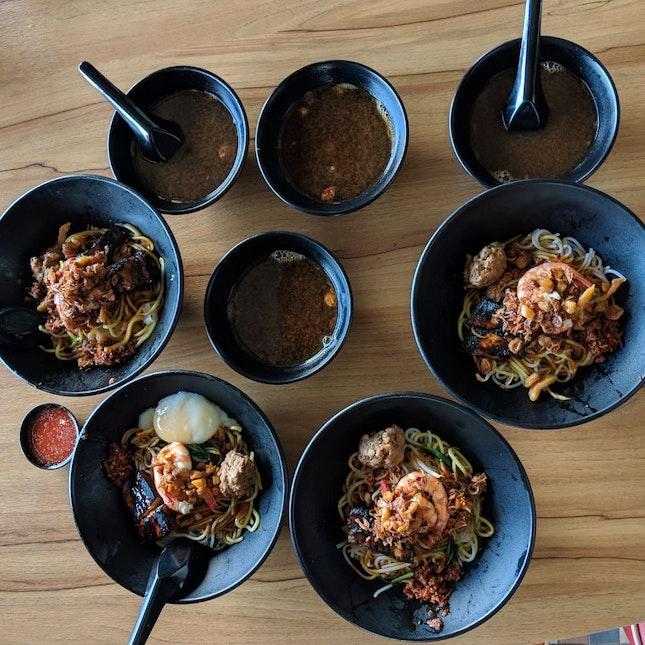 Special Prawn Noodles [$6.50]