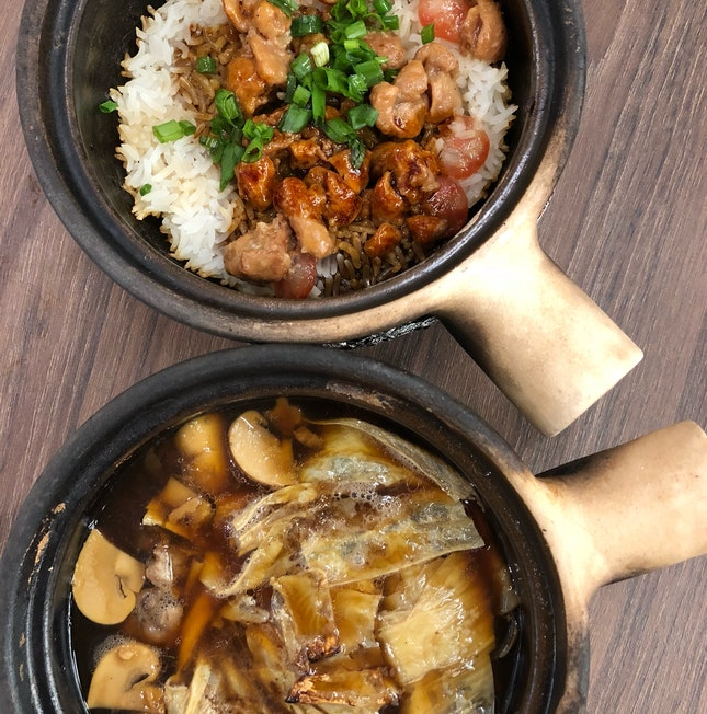 Bak Kut Teh & Clay Pot Chicken Rice