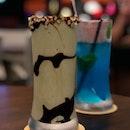 Hazelnut Matcha Milkshake