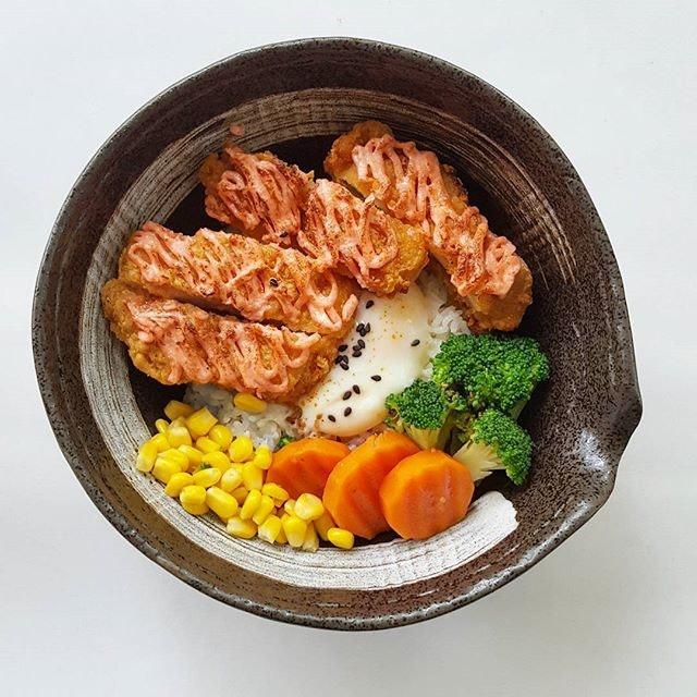 Mentaiko Chicken Katsu Ric3 Bowl * #carol_mel_cafe #carolmel #carolmelcafesg #carolmelcafe #starvingfoodseeker #burpple #hungrysquad #foodstarz #videomasak #phaat #foodbossindia #losangeleseats #eatingnyc #damien_tc #singaporeinsiders #thisisinsiderfood #jktfoodbang #exploreflavours #asiafoodporn #feedthepanda #foodie #dailyfoodfeed #thisisinsider #thisisinsiderfood