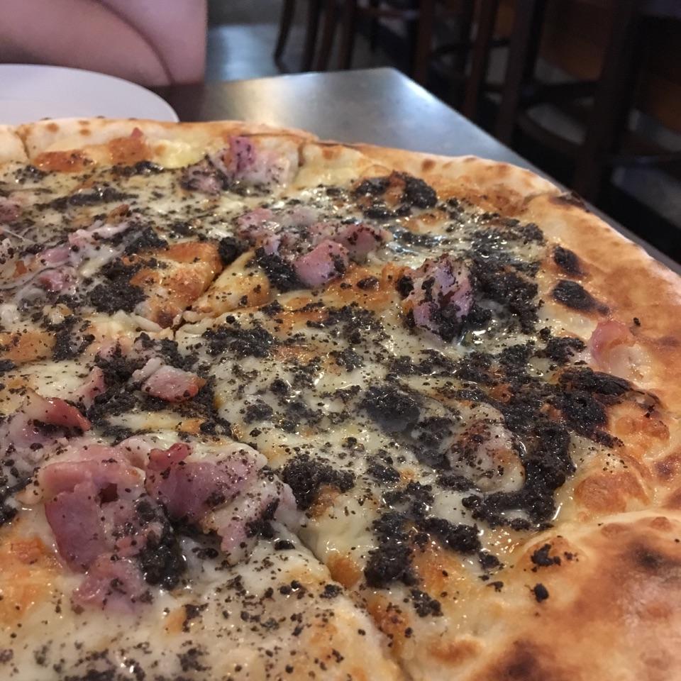 Special Menu: Bacon & Truffle Pizza