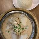 Steamed Fish With Tofu In Sesame Sauce