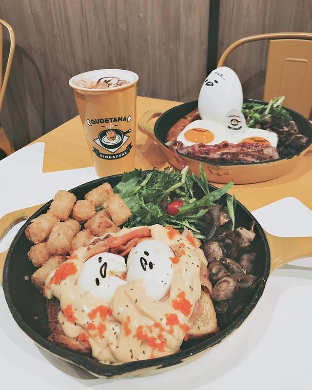 Gudetama Café Singapore
