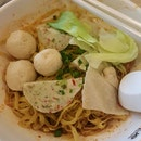 Fishball Meepok Dry With Chilli