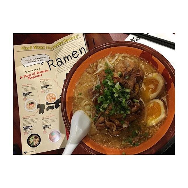 Ramen 🍜 craving fix ✅ #hea #hea爆 #Saturday #ramen #bankara #itadakimasu #burpple