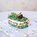 The prettiest plate of vegetarian dish !!!
