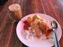 Ayam Gulai Rice And Tei Terik