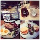 Breakfast Platter And Salmon Toast