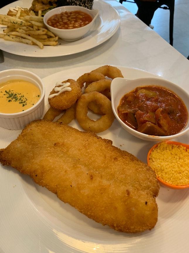 Lava Twist Fish & Chips