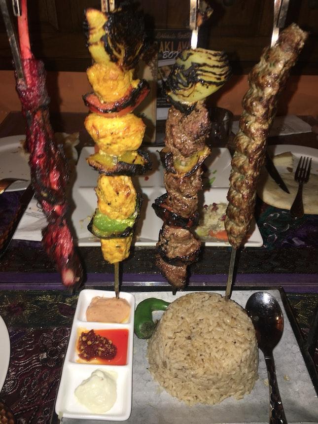 Mixed Grill Kebab Platter