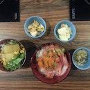 Sashimi Don Set ($9.80++)
