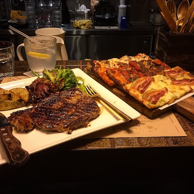 At Italian Osteria, it is totally worth the price!