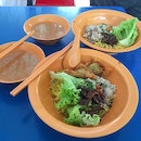 Authentic Teo Chew style Bak Chor Mee found in a hawker at Ubi Industrial area.