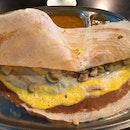 Egg Mushroom Thosai