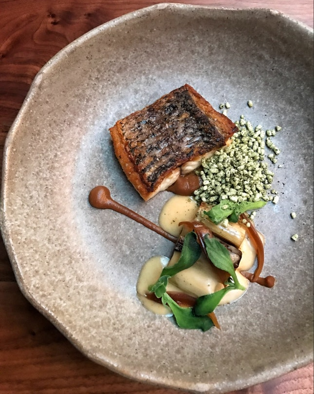 Barramundi (Lunch Menu; from $30 for a 2-course meal)