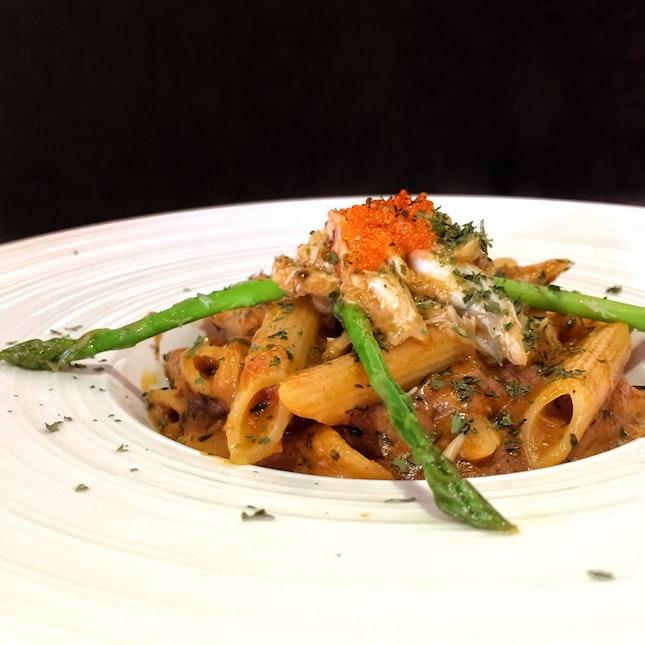 Crab Pasta ($12.90)