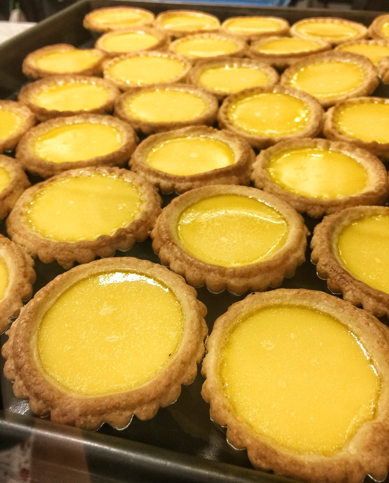 Egg Tarts (4 for $7.60)