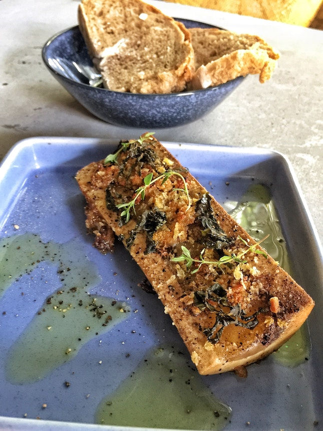 Smoked Bone Marrow ($12)