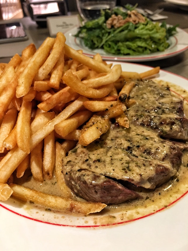 Trimmed Entrecote Steak ($34.90)