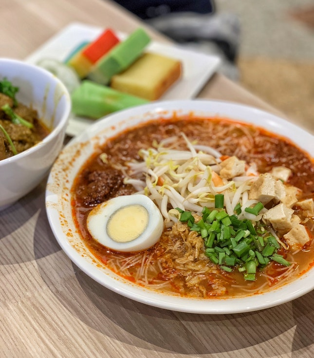 Nonya Mee Siam ($7)