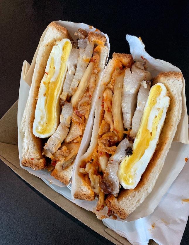 Kimchi Pork Sandwich ($14)