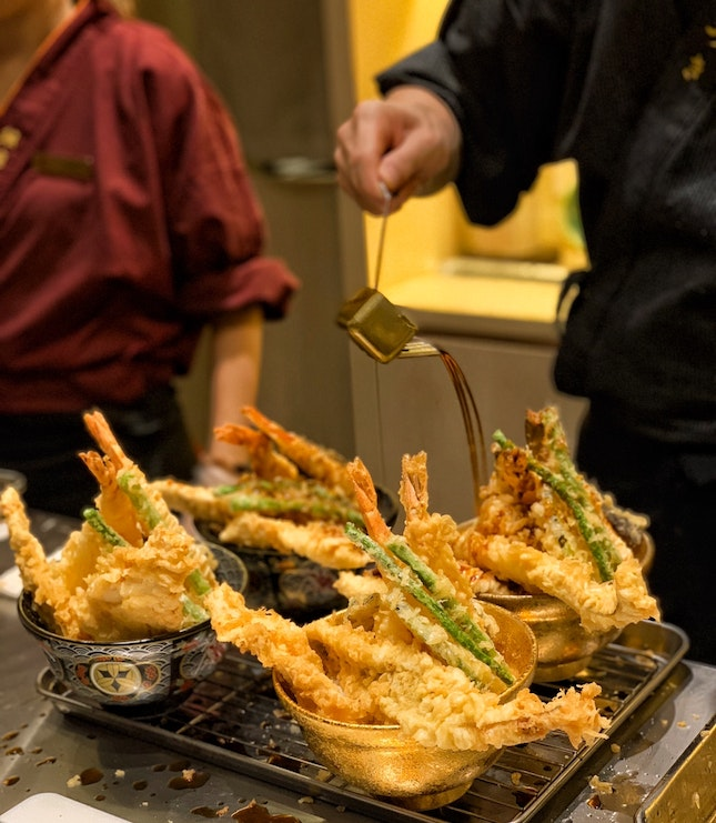 New Keisuke tendon outlet with no queue!
