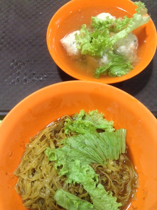 Fishball Minced Meat Noodle