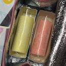 Mango & Strawberry Roll Cakes
