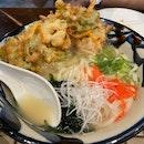 Bitter-gourd Tempura Soup Noodle