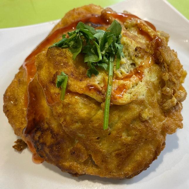 Omelette Chicken Rice