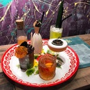 Bee Bee's - Assorted Cocktails - On The Table:  ACAMASDRINKS & GTK💮: Respite (💵S$15)  Soothingly chocolaty, Respite bid comforting yet it packs a punch, like the nightcap you need to warm your belly, the put you to sleep on a hard day's night.