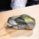 Southpaw Bar & Sushi - Omakase Take (💵S$98) - HOSTED TASTING - Kohada 小鰭, Japanese Gizzard Shard Nigiri Sushi 🍣 • ACAMASEATS & GTK💮: One of my Favourite fish for sushi gotta be Kohada 小鰭, Japanese Gizzard Shard & Shinko 新子 very young Gizzard shad.