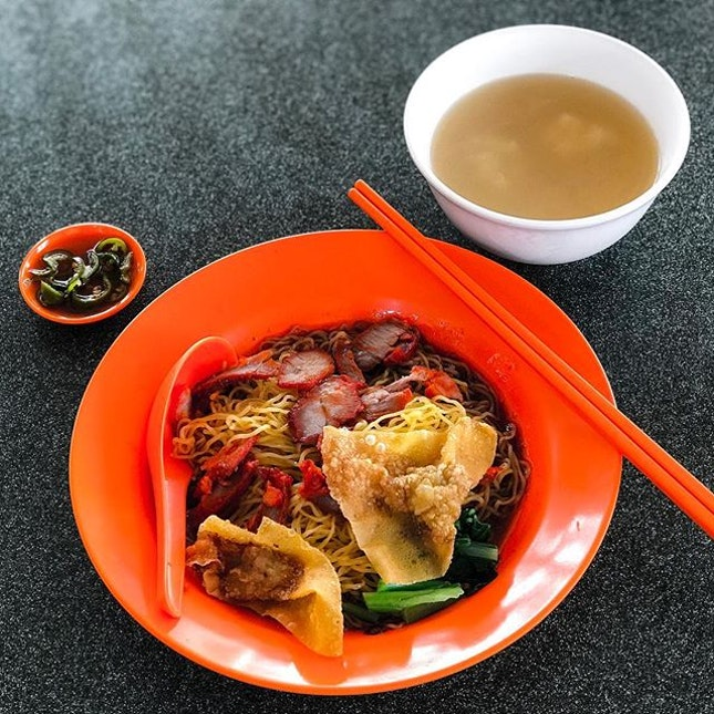 Circuit Road Market & Food Centre - Local Wanton Mee (💵S$2.50) 🥢 • ACAMASEATS & GTK💮: Every cuisine, every meal, every dish has a story.