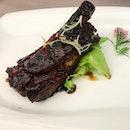 Long Beach Seafood Dempsey @longbeachseafood - Soy sauce glazed pork ribs (💵S$8.50) per rib, minimum 2 pieces.