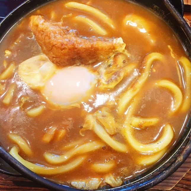 Small Pot Curry Udon