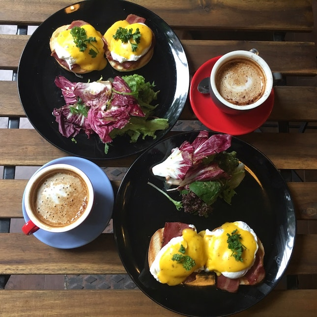One of the best Eggs Benedict I ever had!