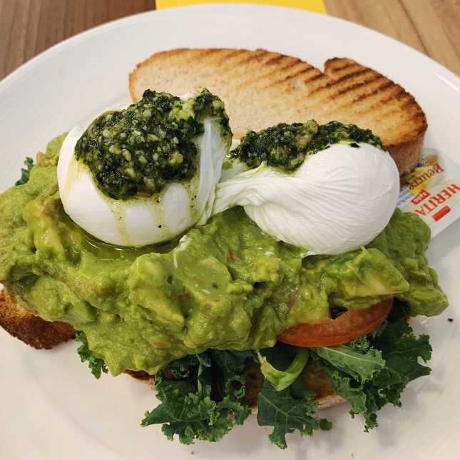 Poached Egg & Avocado ($16)
