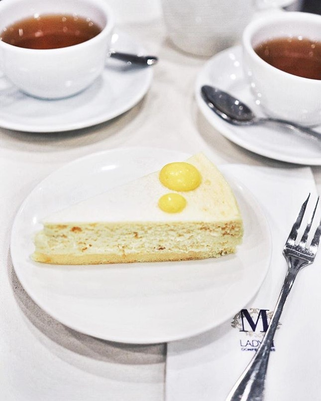 🍰/ Yuzu Cheesecake  Of course we had to go try the newly launched cake @ladymsg 😻 Also eyeing that Gâteau Nuage next!