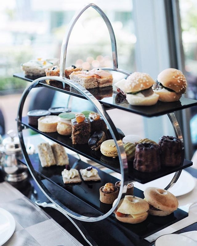 Afternoon tea at our fav high tea place!